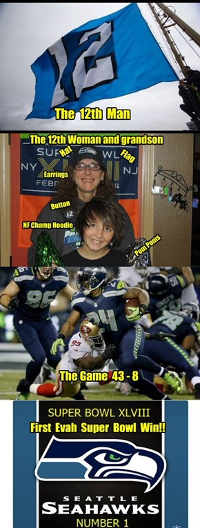 Seattle Seahawks Rock and Rule Super Bowl XLVIII !