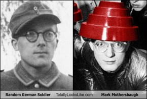 Random German Soldier Totally Looks Like Mark Mothersbaugh