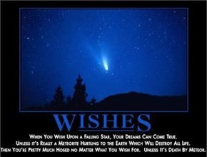 Wishes Are Apparently Horrifying