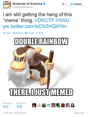 The Original Kong, Cranky, Takes Over Nintendo's Twitter Feed and It's More Clever Than You Think