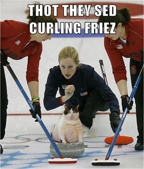 THOT THEY SED CURLING FRIEZ