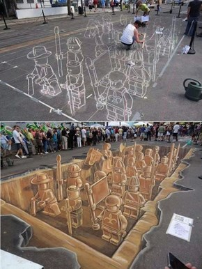 This Street Art, Like Everything, is Awesome
