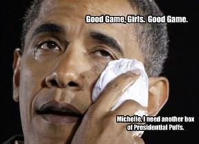 'S Okay, Barry.  It's just Women's Hockey.
