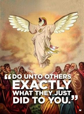 Whenever Bird Jesus Uses Mirror Move