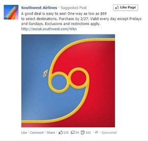 Southwest Airlines: Start your Mile High Club Membership Today!