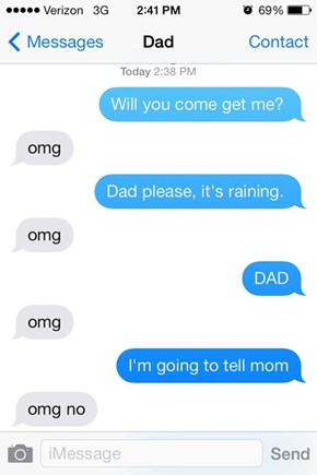 This is What Happens When Dad Learns Internet Slang