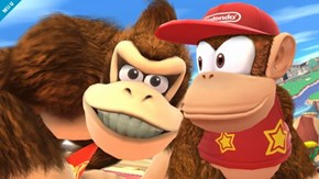 Diddy Kong's Coming Back to Super Smash Bros