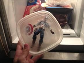 Frozen Until He's Needed Again