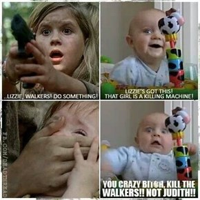 In This Season of The Walking Dead, Babies Beware