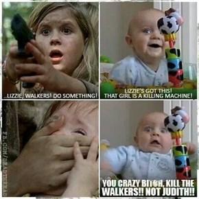 In This Season of The Walking Dead, Babies Beware