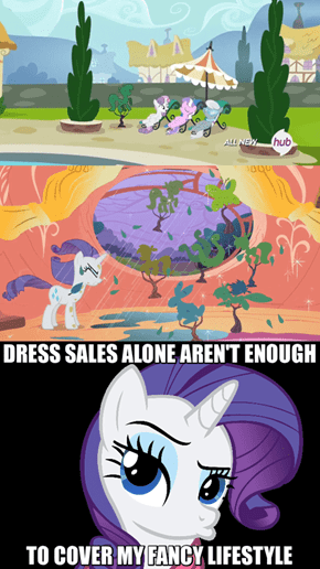 Rarity Does Topiary Sculpting As A Sidejob