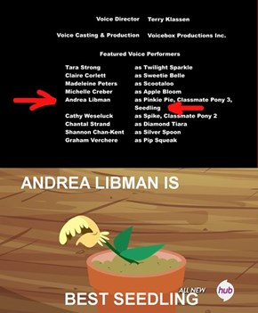 Andrea Libman is best seedling