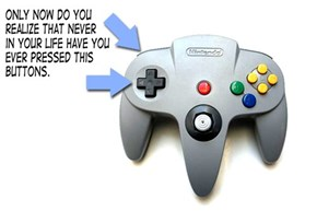 The Untouched N64 Buttons