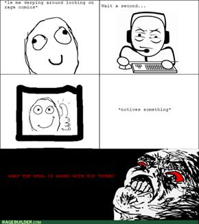 Stupid Thumb...