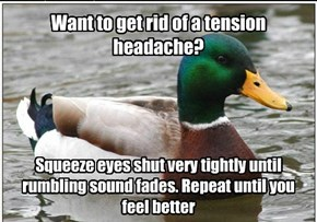 Want to get rid of a tension headache?