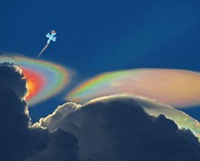 Rainbow Pileus