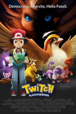Twitch Plays Pokémon: The Movie