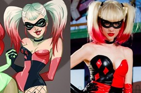 Impressive Harley Quinn Cosplay Based on The Works of Babs Tarr