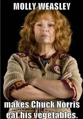 Nothing Gets Past Molly Weasley