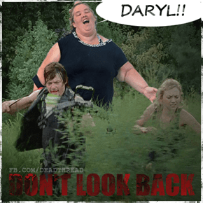 Daryl Deals With Something Straight Out of Your Nightmares