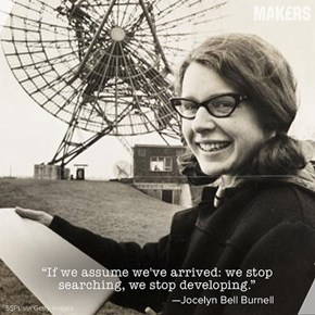 On this Day in 1967 Jocelyn Bell Burnell Discovered Pulsars