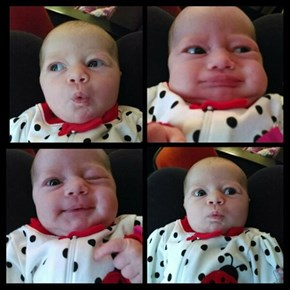 The Many Expressions of Babies