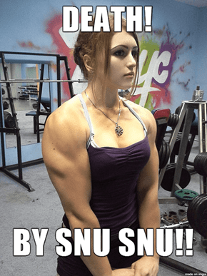17-Year-Old Russian Powerlifter Yulia Vins Was Definitely in That One Episode of Futurama