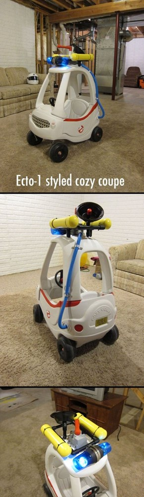 Another Way to Customize That Cozy Coupe