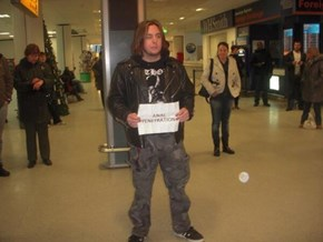 The Challenge of Picking Up Metal Bands From the Airport