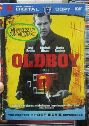 The Chinese Bootlegs of the American Remake of Oldboy Tell It Like It Is