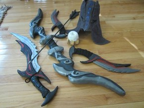 Skyrim Props by Labinnak and Mangoloo