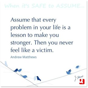 When it's SAFE to ASSUME...