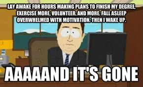 Goodbye, Motivation!