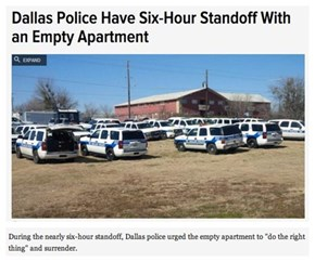 Good Going, Dallas PD