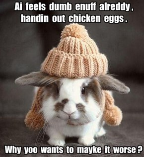 Easter Bunny woes