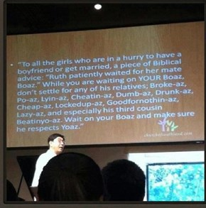 This Pastor Knows What the Ladies Want