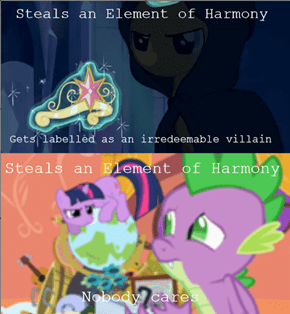 Sunset Shimmer gets no love