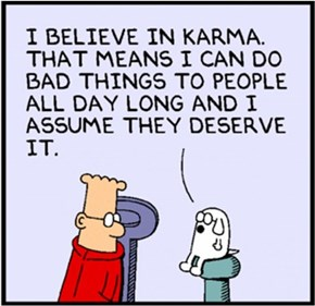Achieving Karmic Balance