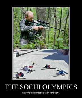 Now That's an Olympic Challenge
