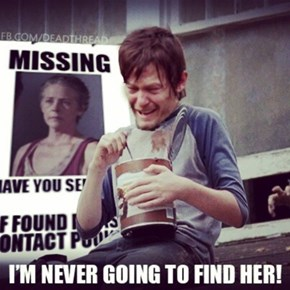 Daryl Has Comfort Food