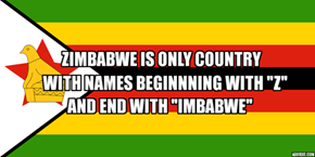 Little Facts About Zimbabwe.