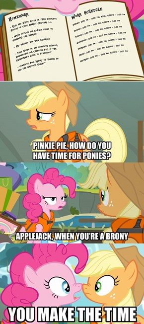Pony Priorities