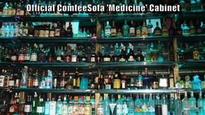 Official ComfeeSofa 'Medicine' Cabinet