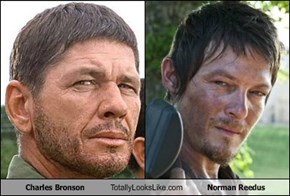 Charles Bronson Totally Looks Like Norman Reedus