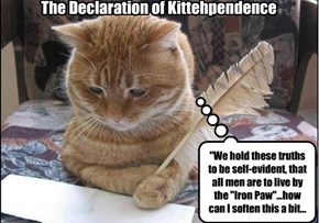 The Declaration of Kittehpendence