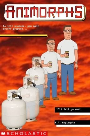The Man has Propane Running Through his Veins!