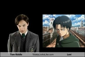 Tom Riddle Totally Looks Like Levi