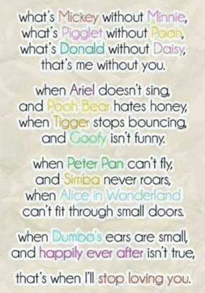 A Valentine's Poem for the Disney Lover in Your Life