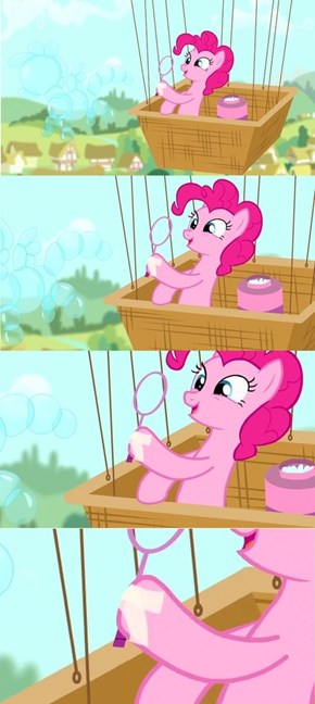 Pinkie accidentally left the clear tape at home