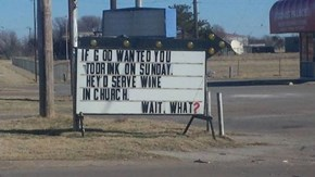 Wine: God Approved